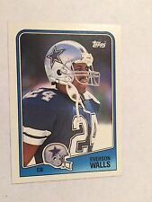 1988 Topps #268 - Everson Walls - Dallas Cowboys
