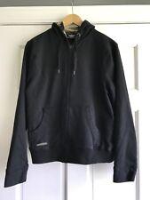Harley Davidson Full Zip Hoodie Sweatshirt Black Camo Hood Mens Small