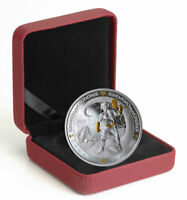 2019 Canada Norse Gods Thor 1 oz Silver Gilt $20 Coin GEM Proof OGP SKU57009