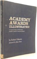 ACADEMY AWARDS ILLUSTRATED 1967 EDITION Robert Osborne Movie Oscar History