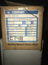 Century Ac Motor 7-152664-01 Electric Motor 1/3 Hp