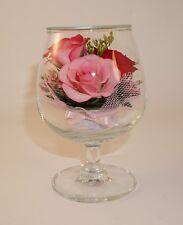 Last Forever Roses Bouquet Preserved in Fancy Glass Jar. Love Forever Roses.
