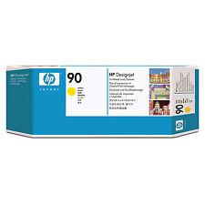 HP C5057A 90 gelb Druckkopf mit Reiniger D
