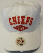 5111090fa08 NFL Kansas City Chiefs Reebok Vintage Flex Slouch Cap Hat Stretch OSFA NEW!