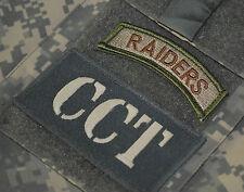 KANDAHAR POLO CLUB AFSOC JTF COMBAT CONTROL TACP JTAC INSIGNIA: CCT + RAIDERS