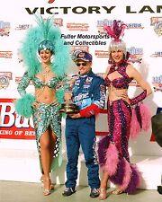MARK MARTIN LAS VEGAS SHOWGIRLS 1998 NASCAR WINSTON CUP VICTORY LANE 8X10 PHOTO