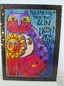 Laurel Burch Friendship Greeting Card Bringing You The Sun Moon And Stars New