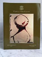 Catálogo De Venta Catherine Charbonneaux Baño N º 7 Impresión 21 Mai 1990