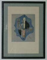"""Joyeux Clair"" by Wassily Kandinsky Unsigned Lithograph Maeght Edition"