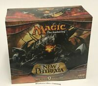MTG Magic New Phyrexia Fat Pack NEW Includes 9 Booster Packs Life Counter