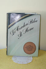 LE CORDON BLEU AT HOME  CLASSIC FRENCH CUSINE FIRST EDITION GREAT COOK BOOK