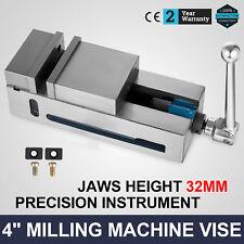 "4"" Super-Lock Precision CNC Vise Milling Clamping Stable Durable Detachable"
