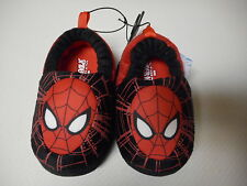 Boys Toddler New Marvel Ultimate Spiderman Slippers House Shoes Small 5/6 NEW