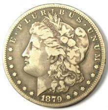 1879-CC Morgan Silver Dollar $1 - VF Detail - Rare Carson City Coin!