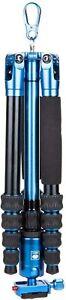 SIRUI AM-005B Ultra Lightweight Aluminum Travel Tripod with Ball Head, Blue