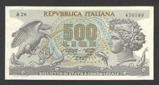 ITALY   500 LIRE  1975   P.93b    UNCIRCULATED  Prefix : A
