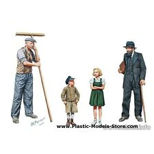 CITIZENTRY. CITIZENS. CIVILIANS WESTERN EUROPE WWII 1/35 MASTER BOX 3567