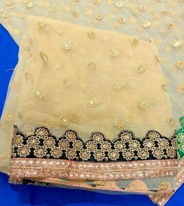 Maria B Khaadi Limelight Sana Safinaz Mehndi Party wear Black border dupatta