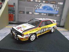 AUDI Quattro Rallye WM Gr.B #3 Blomqvist 1000 Lakes Finnland 1984 Trofeu 1:43