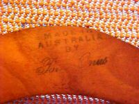 SIGNED,  Authentic BOOMERANG Returning Model-100% hand craft/painted-Australia