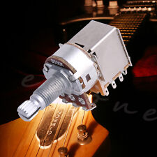 B500K Metal Electric Guitar Push Pull Ascend Bass Control Switch Pot HOT