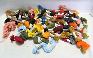 Lot of 43 New Skeins Retors A Broder No. 4 Cotton Embroidery Floss France