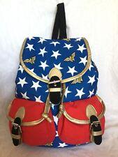27da344a09 Large DC COSMIC Faux Leather/Canvas Backpack/Shoulder Bag / Handbag