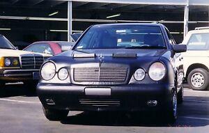 Colgan Front End Mask Bra 2pc. Fits Mercedes Benz E300 E320 96-99 W/Lic.Plate