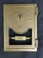 Antique Cast Bronze Post Office Box Door & Frame Mfg by St. Paul Furniture Co.17