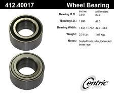 Wheel Bearing-C-TEK Bearings Front,Rear Centric 412.40017E