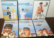 Le Gendarme de Saint Tropez L'intégrale / LOUIS DE FUNES  // lot de 6 DVD TBE