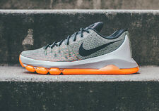 Nike KD 8 Easy Euro Lunar Grey/Squadron Green Men's Basketball Shoes Size 12