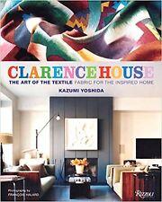 CLARENCE HOUSE Art of the Textile Kazumi Yoshida Fabric Design Interior Decor
