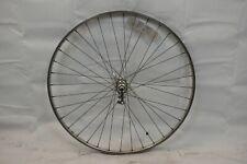 """Weinmann Front 27"""" Road Bike Wheel Schwinn Hub Silver OLW96 16mm 36S AV Charity!"""