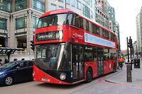 New bus for London - Borismaster LT597 6x4 Quality Bus Photo