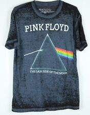 Pink Floyd Dark Side Of The Moon T Shirt Size Medium Graphic Tee Rock Burnout