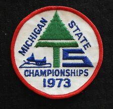 "1973 "" Michigan Zustand Motorschlitten Championships "" Grand Rapids Mi Mighigan"