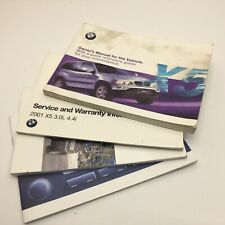 BMW X5 E53 Owners Users Manual Set 1996 - 2006