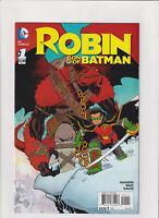 Robin Son of Batman #1 NM- 9.2 DC Comics 2015 Damien Wayne