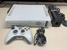 MICROSOFT XBOX 360 CONSOLE 120GB W/ CONTROLLER & CABLES