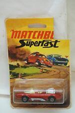 VINTAGE MATCHBOX CAR SUPERFAST HOT ROD DRAGUAR 36 LESNEY ENGLAND 1972 MIP MOC