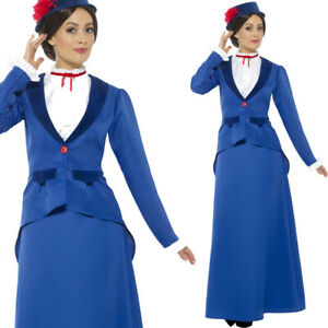 Traditional Book Day Costume Victorian Nanny Fancy Dress