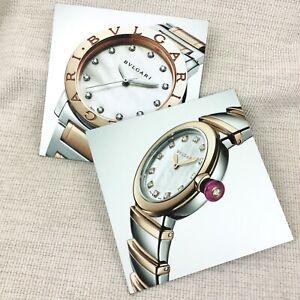 Bulgari Bvlgari Display Board Mat Advertising Dealer Women's Watch Jewellery