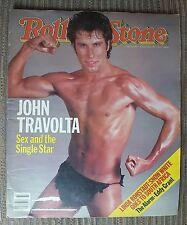 John Travolta Linda Ronstadt Rolling Stone newspaper Magazine # 402 Aug 18, 1983