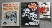 Spike Milligan The Goons Peter Sellers Harry Seacombe Comedy Humour Book Lot