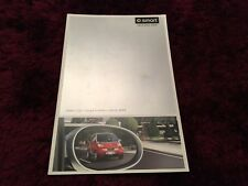 Smart City-Coupe & Cabrio Brochure 2003 - UK issue