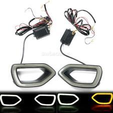 Fits 15-19 Dodge Charger SRT Scat Pack Grille Smoke LED Lights