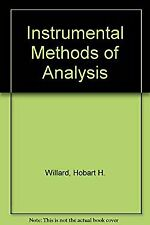 Instrumental Methods of Analysis by Willard, Hobart Hurd