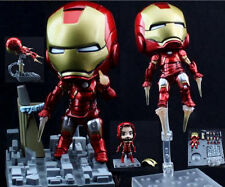Avengers Iron Man Mark 7 Cute Action Figure Hero's Edition Series #284 Toy Doll