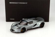 Hennessey Venom GT Spyder Année 2010 argent 1:18 AUTOart